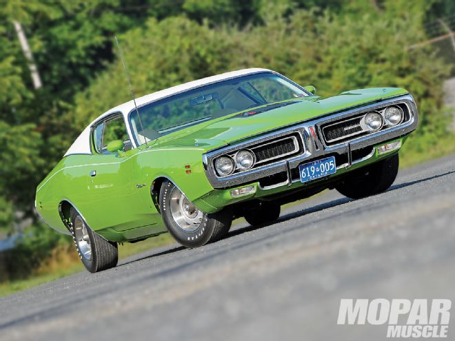 1971 Dodge Charger 383 Desert Grass