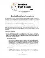 General Installation Guide