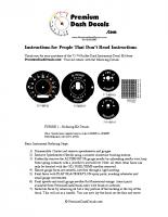 1971 – 1974 B Body Decal Installation