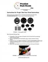 1972 – 1974 E Body Rally Decal Installation